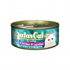 AATAS Creamy Chicken&Sardine 80g