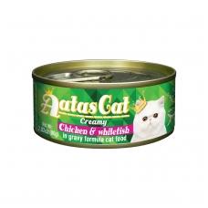 AATAS Creamy Chicken&Whitefish 80g