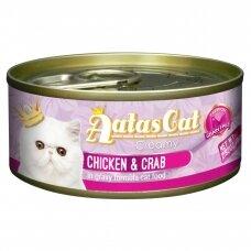AATAS Creamy 80 g Chicken & Crab