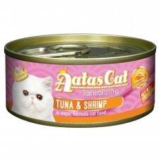 AATAS Tantalizing 80 g Tuna & Shrimp