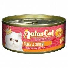 AATAS Tantalizing 80 g Tuna & Surimi