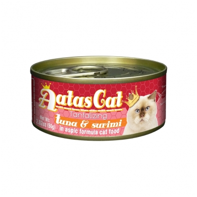 AATAS Tantalizing 80 g Tuna & Surimi 2