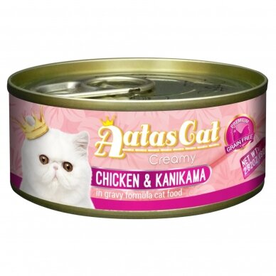 AATAS Creamy 80 g Chicken & Kanikama