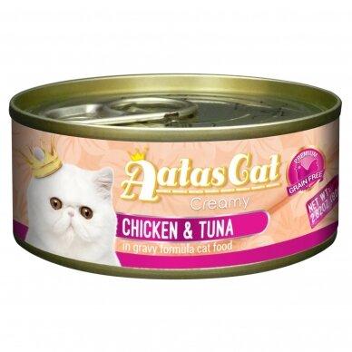 AATAS Creamy 80 g Chicken & Tuna