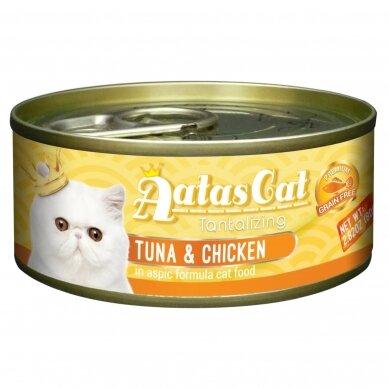 AATAS Tantalizing 80 g Tuna & Chicken