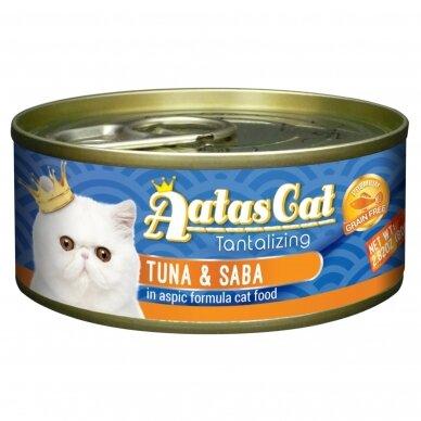 AATAS Tantalizing 80 g Tuna & Saba