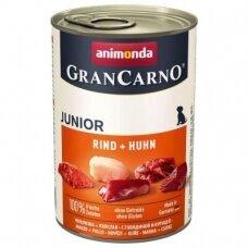 ANIMONDA GRANCARNO Junior 400 g su jautiena ir vištiena
