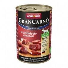 ANIMONDA GRANCARNO ORIGINAL 400 g su įvairių rūšių mėsa