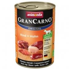 ANIMONDA GRANCARNO Original 400g. su jautiena ir vištiena.