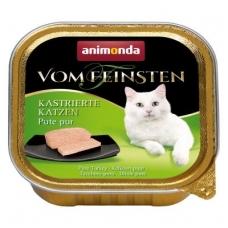 ANIMONDA VOM FEINSTEN 100g. su kalakutiena. Sterilizuotoms katėms.