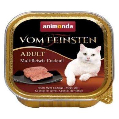 ANIMONDA VOM FEINSTEN 100g. su įvairia mėsa.