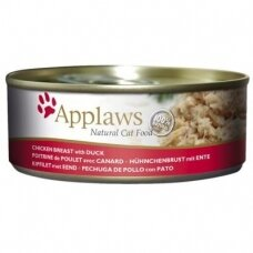 APPLAWS ADULT CHICKEN BREAST WITH DUCK 156 g