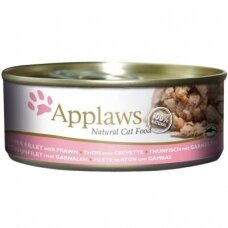 APPLAWS ADULT TUNA FILLET WITH PRAWN 156 g