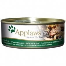 APPLAWS ADULT TUNA FILLET WITH SEAWEED 156 g