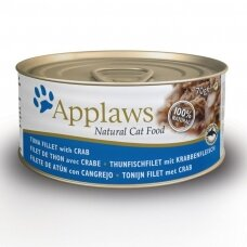 APPLAWS ADULT TUNA FILLET WITH CRAB 70 g