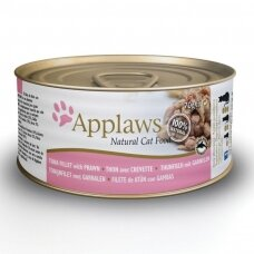 APPLAWS ADULT TUNA FILLET WITH PRAWN 70 g
