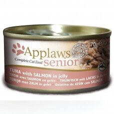 APPLAWS SENIOR WITH TUNA WITH SALMON 70 g