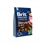 BRIT PREMIUM By Nature 3 kg Light Turkey & Oat