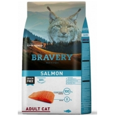 BRAVERY 7 kg SALMON for ADULT CAT