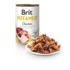 BRIT CARE 400 g Chicken Pate & Meat