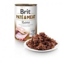 BRIT CARE 400 g Rabbit Pate & Meat