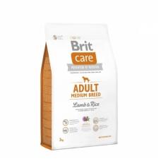 BRIT CARE ADULT MEDIUM BREED LAMB & RICE 3kg