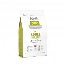 BRIT CARE ADULT SMALL BREED LAMB&RICE 3 kg sausas maistas šunims
