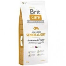 BRIT CARE Grain-free Senior 12kg Salmon & Potato