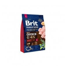 BRIT PREMIUM By Nature 3 kg Adult L Chicken.