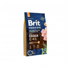 BRIT PREMIUM By Nature 3 kg Adult M Chicken.