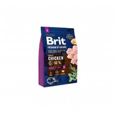 BRIT PREMIUM By Nature 3 kg Adult S Chicken.