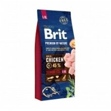 BRIT PREMIUM By Nature 15 kg Senior L/XL
