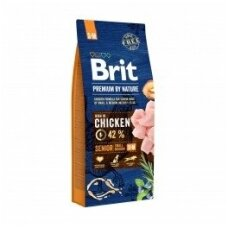 BRIT PREMIUM By Nature 15 kg Senior S/M