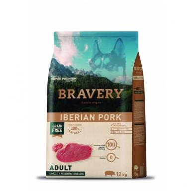 BRAVERY 12 kg ADULT IBERIAN PORK LARGE/ MEDIUM BREEDS
