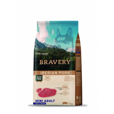 BRAVERY 7 kg MINI ADULT IBERIAN PORK