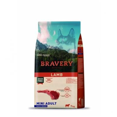 BRAVERY 7 kg MINI ADULT LAMB