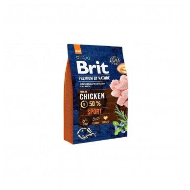 BRIT PREMIUM By Nature 3 kg Sport Chicken.