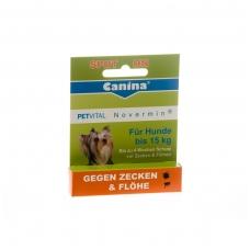 CANINA Petvital Novermin lašai (iki 15 kg svorio) 2 ml