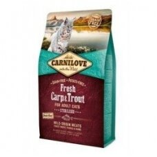 CARNILOVE 6 kg Fresh Carp & Trout. Sterilised