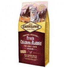 CARNILOVE 6 kg Fresh Chicken & Rabbit