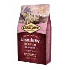 CARNILOVE 6 kg Salmon & Turkey for Kittens