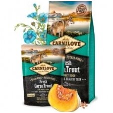 CARNILOVE Fresh Carp&Trout for Adult 12kg