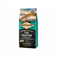 CARNILOVE 12 kg Fresh Carp&Trout for Adult