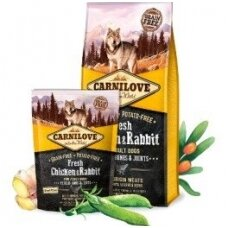 CARNILOVE Fresh Chicken&Rabbit for Adult 12kg