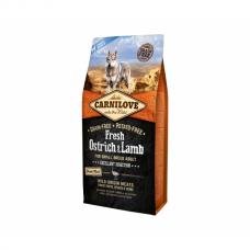 CARNILOVE 6 kg Fresh Ostrich&Lamb for SB