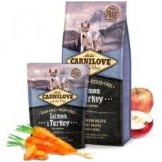 CARNILOVE Puppy Salmon&Turkey 1.5kg