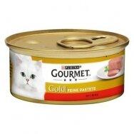 GOURMET GOLD 85 g paštetas su jautiena