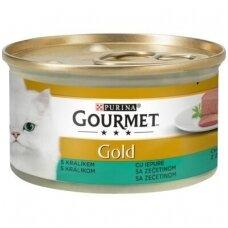 GOURMET GOLD su triušiena, paštetas. 85 g