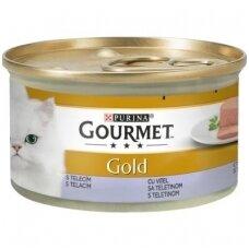 GOURMET GOLD su veršiena, paštetas. 85 g