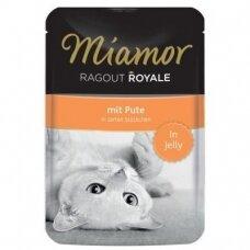 Miamor Ragout Royale in Jelly su kalakutiena 100 g